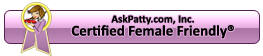 Chesapeake Auto Service is Certified Female Friendly by AskPatty.com